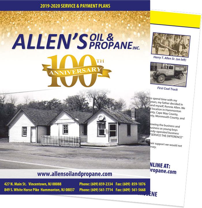 Allen's Oil and Propane Service Agreement 2019