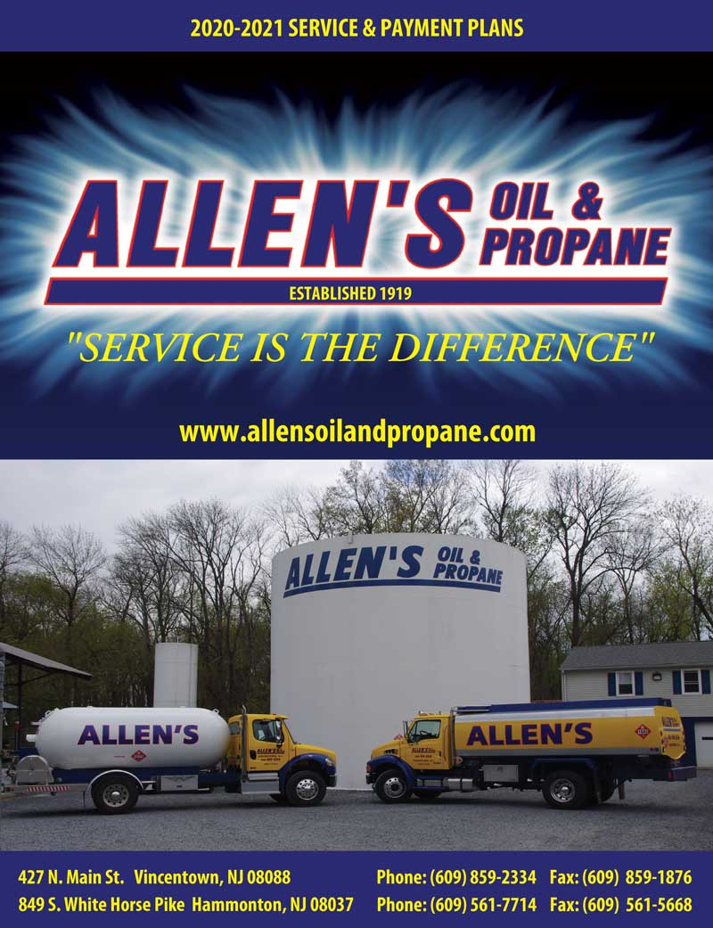 Allen's Oil and Propane Service Agreement 2020